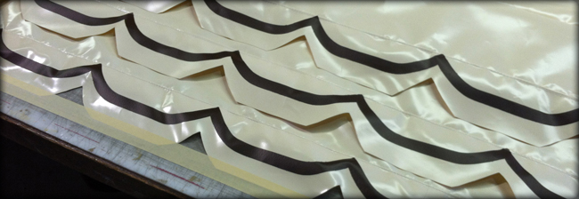 belle isle awning products - scalloped material